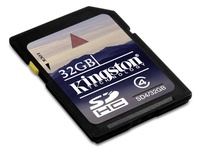 Kingstone SDHC 32GB trieda 4