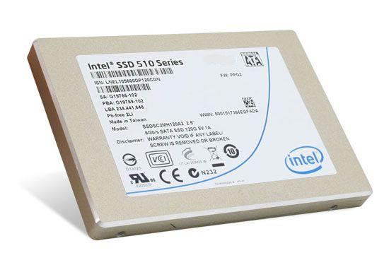 cb5cf1a83 ... Intel SSD 510 Series 120GB - výrobca udáva čítanie až 450MB/s, zápis  210MB