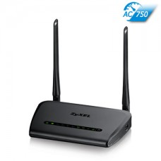 ZyXEL NBG6515, dvojpásmový Net USB WiFi router AC1750, 1000Mbps